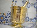 Mortar and pestle brass craft Tunisia