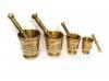 Ensemble mortiers cuivre artisanal Tunisien
