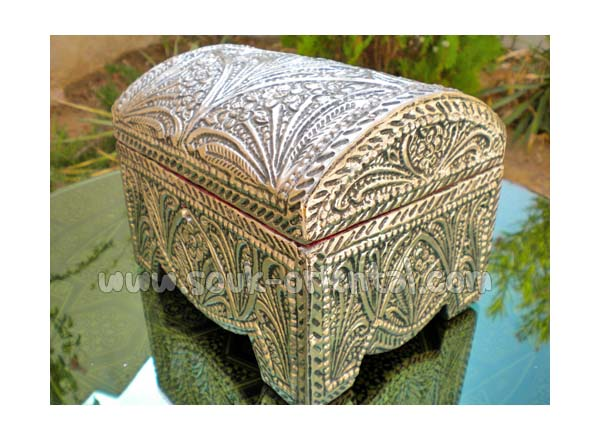 Silver Plated Jewelry Box Craft