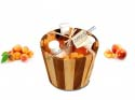 Peach Apricot Box Bucket Steam natural