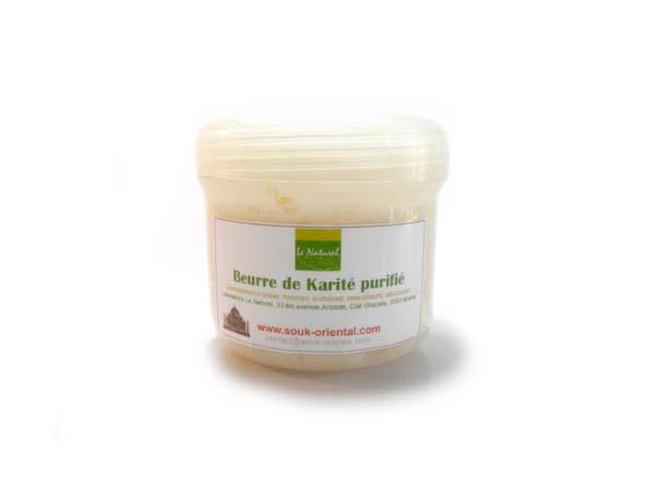 Beurre de Karité pur purifié - le naturel