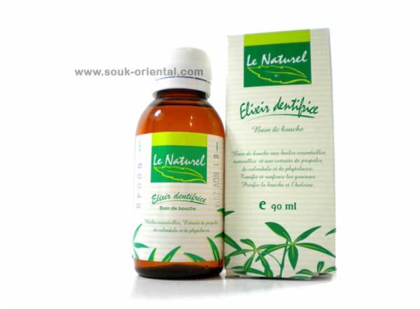 Bain de bouche huiles essentielles