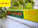 LOT OF 3 Dabur Toothpaste 50g in miswak + 25