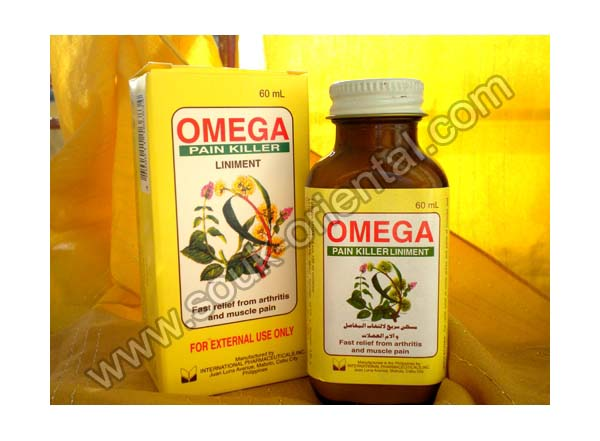 OMEGA PAIN KILLER liniment
