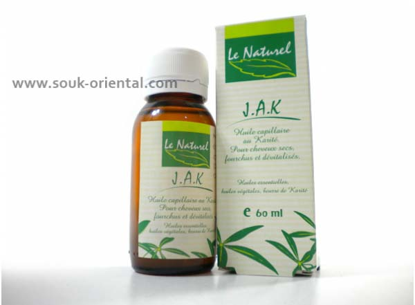 JAK Oil & Shea Butter Hair Oils - The Natural