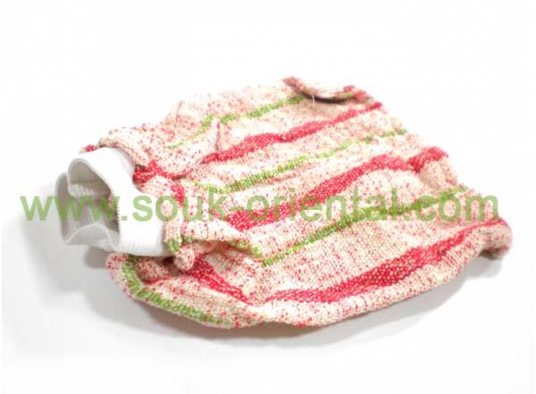 Kessa rough scrub glove