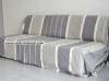 Pier sofa / bed Fouta XXL Light Grey striped Ivoire
