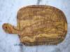 Planche à découper en bois d'olivier massif