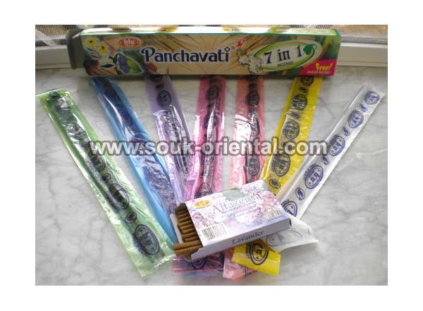 Batonnets d'encens 7 en 1 panchavati
