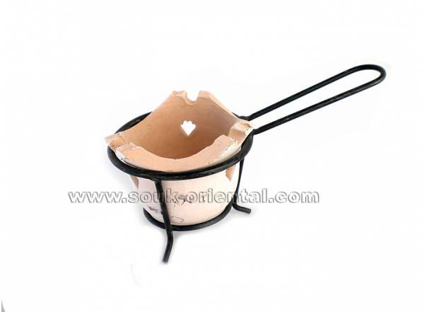 Brule encen en terre cuite