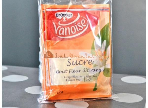 Sucre goût Fleur d'Oranger - Lot de 5 sachets