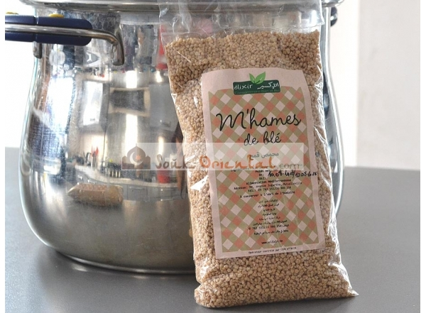M'hames de blé intégral Bio (Mkhamsa, aich, berkoukes)