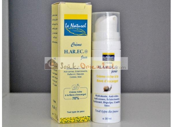 Crème Riche Éclaircissante à la Bave d'Escargot, Karité, Aloe Vera