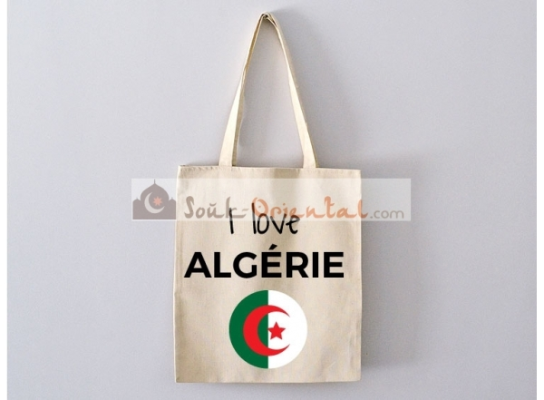 Bag Tote Bag I Love Tunisia