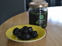 Black olive with organic olive oil