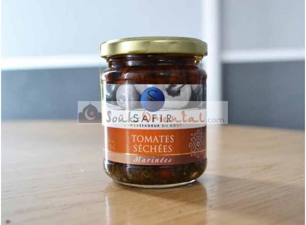 Tomate séchées marinéesà l'huile de tournesol et huile d'olive