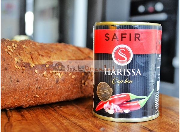 Harissa from Cape Town with fresh hot pepper