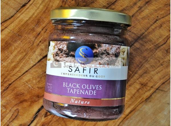 Plain black olive tapenade