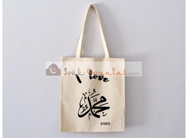 Tote Bag I Love Allah