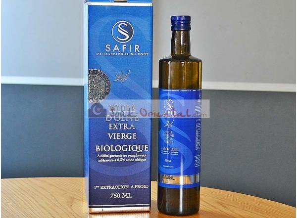 Coffret cadeau huile d'olive extra vierge