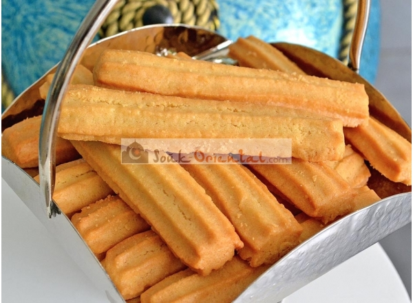Bachkoutou le biscuit traditionnel Tunisien nature