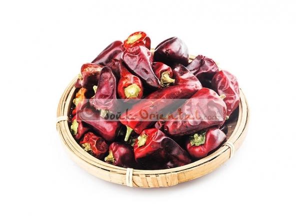 Sun dried chili from Tunisia
