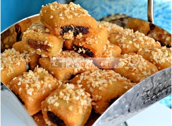 Makroudh Royal Tunisien traditionnel de Kairouan 500 gr