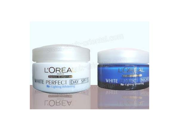 Crème White perfect L Oréal Transparent Rosy