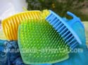 Set of three brushes with plastic pins Tazi
