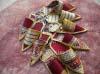 Porte-clés oriental en forme de babouche